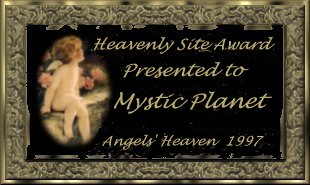Heavenly Site Award from Angels' Heaven 20 Nov 97