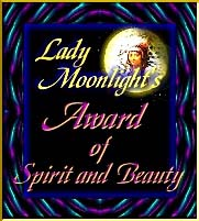 The Realm of Lady Moonlight's Award of Spirit and Beauty - 13 Nov 97